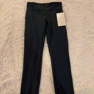 NWT SZ 4 teal lululemon leggings
